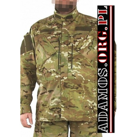 UNIFORM TOP POLISH PATTERN CAMO FOREST