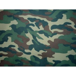 WOODLAND Camouflage Poliester